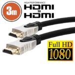 HDMI kábel 3 m aranyozott