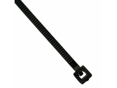 Vezetékkötegelő 200x5mm fekete