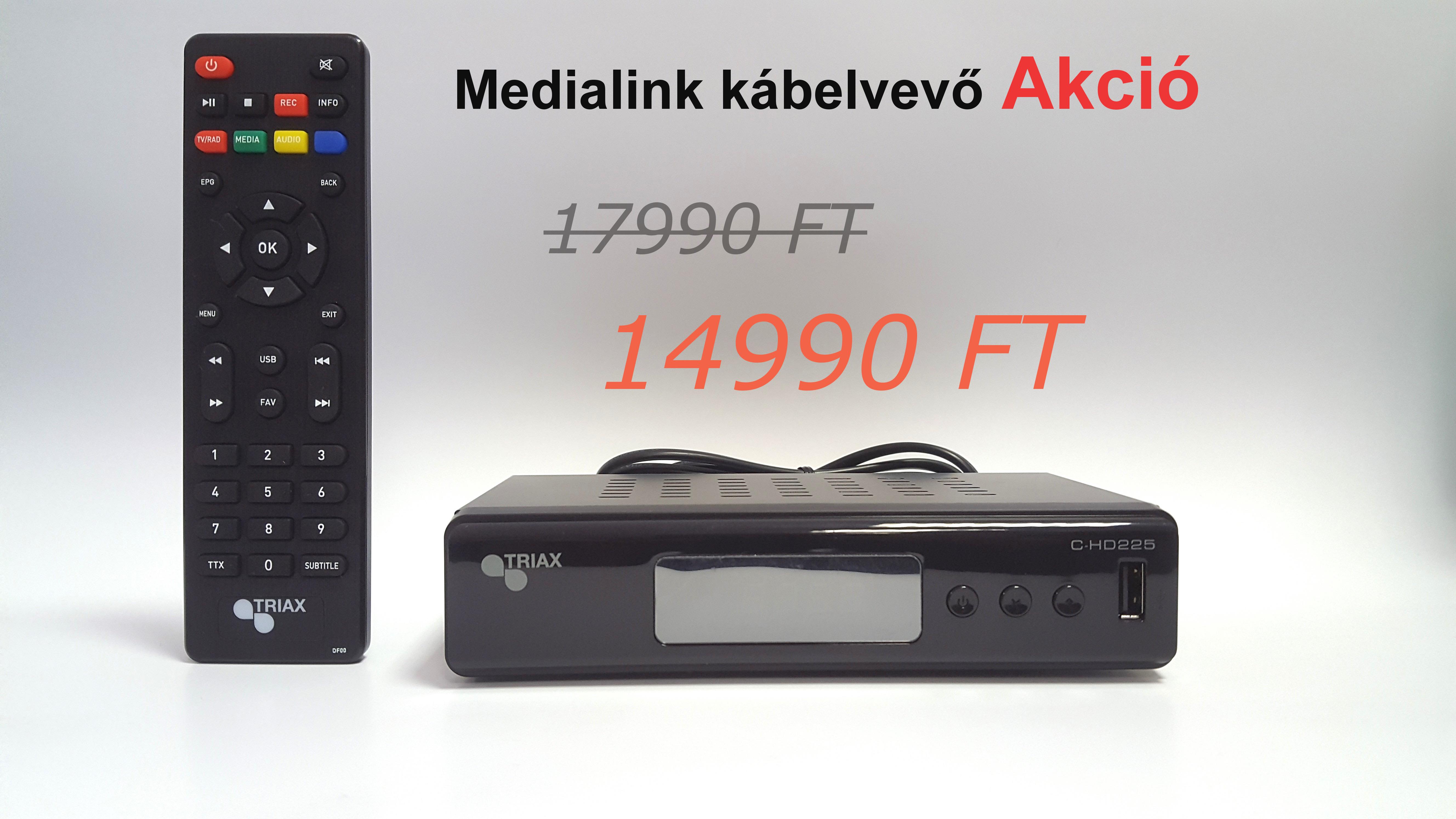 Triax HD kábelvevő