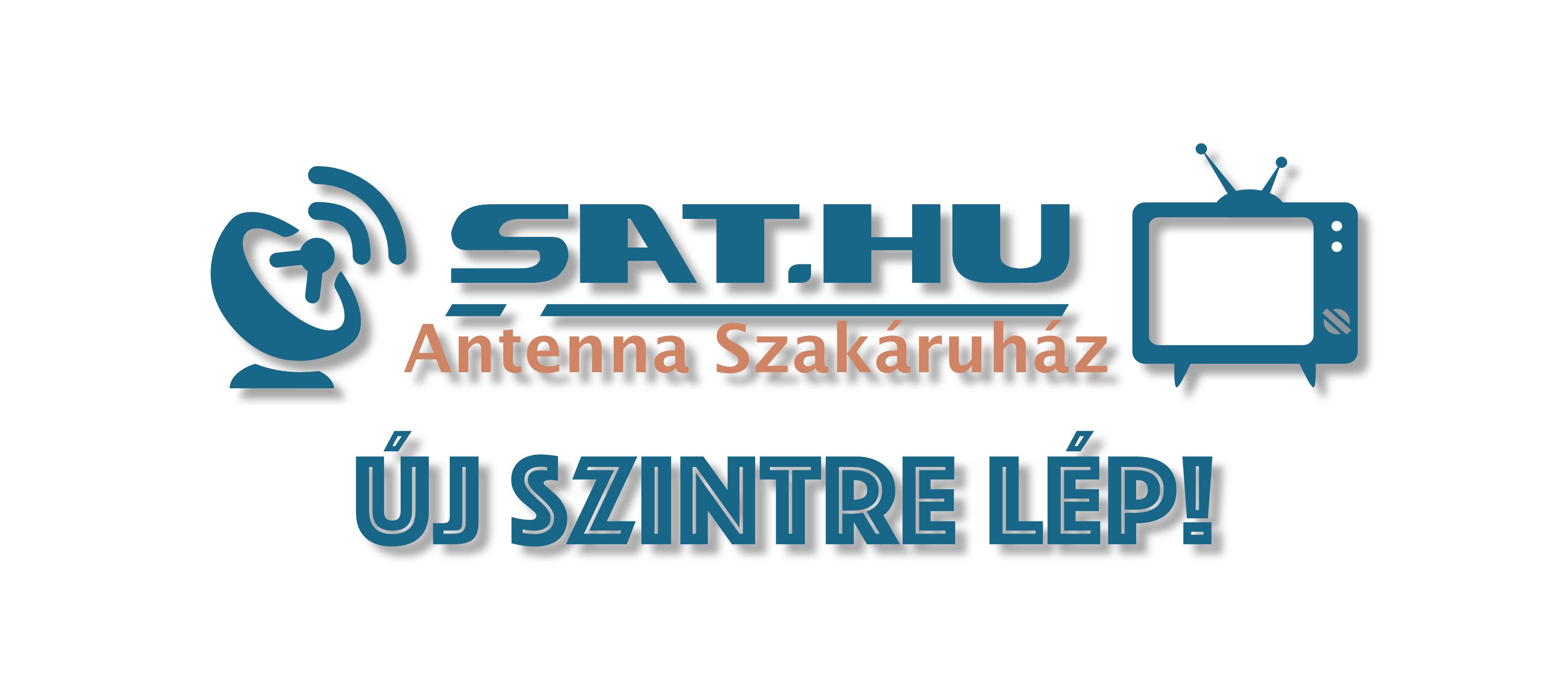 Új szintre lép a Sat.Hu Antenna Szakáruház