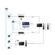 Ekselans MD IR UHF/VHF modulátor elvi megvalósítás 1.