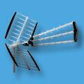 Földi antenna / tetőantenna