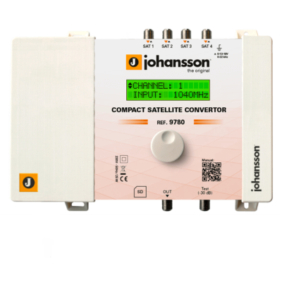 Johansson 9780 Compact Satellite Converter