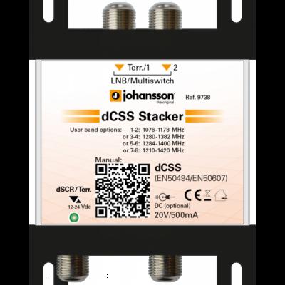 Johansson 9738 dSCR stacker