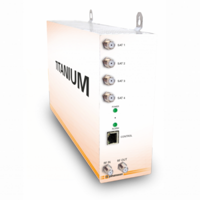 Johansson Titanium 8 kompakt fejállomás