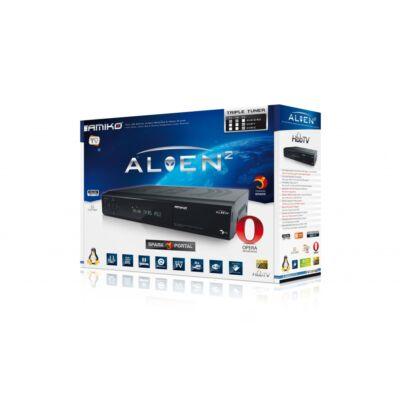 Amiko Alien 2+ Triple HDTV műholdvevő