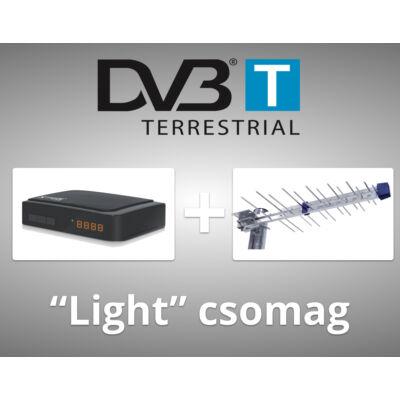 """DVB-T """"Light"""" csomag"""
