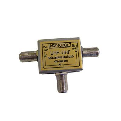UHF-UHF szélessávú közösítő (Könczöl)