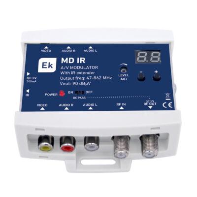 Ekselans MD IR UHF/VHF modulátor infra extenderrel