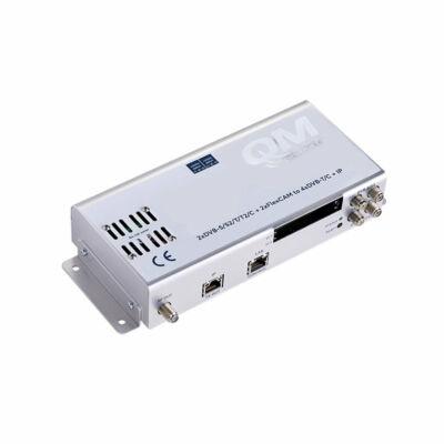 DFL-300C 2xDVB-S-T-C + flexCAM to 4xDVB-T-C + IP mini fejállomás