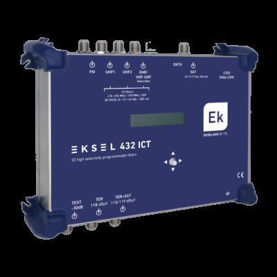 Ekselans EKSEL 432 ICT programozható digitális erősítő
