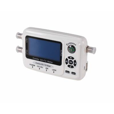 Opticum OPSC-1 Combo DVB-S2/T2 antenna beállító műszer