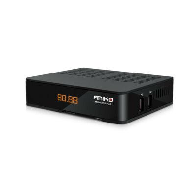 Amiko Mini 4K UHD T2/C földi és kábelvevő set top box