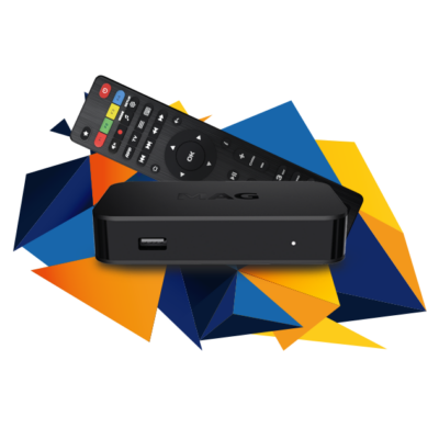 MAG 322 IPTV vevő